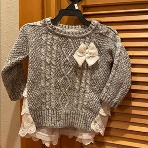 The cutest Little Lass sweaters for 2t-3t